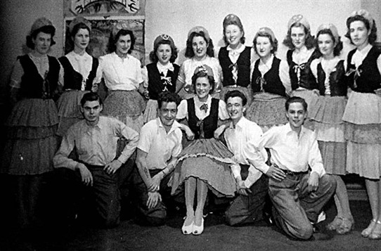 Photo:Red Cross Cadets concert party c. 1948