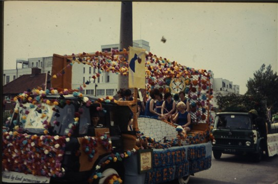 Photo:A Float in the Parade 1970's