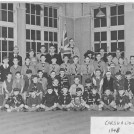 Photo:Carshalton Cubs 1948 Bishop Andrewes Church. Top row is Jack Smart and Stan Noble, middle row Charlie Allison and Ron Bird and bottom row John Hancock and Les Bird.