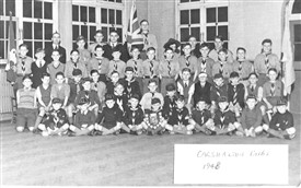 Photo:Carshalton Cubs 1948 Bishop Andrews Church