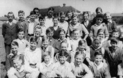 Photo:Form 6 Glastonbury Boys School 1946 Peter Leonard Back row 2nd from left