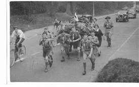 Photo:Hiking From Reigate Fort 1952