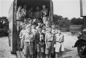 Photo:Off To Summer Camp 1952