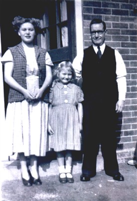 Photo:Sylvia, Rita and Arthur Neal