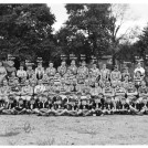 Photo:5th Morden Scouts at Green Lane Methodist Church 1953. Top Row:Mrs Bird, Mrs Bowler, Stan Masters, Alan Bean, Alan Good, Mike Brown, Ron Bird, Les Bird, Steven Ivy, Mrs Smith and Mrs Pearcy. 3rd Row: Mr Pearcy, Barbara Scales, Jean Lewis, Brian Barham, Colin Wilkie, Bob Holden, Roy Scales, Dave Smith and Brenda Dawson. 2nd row:  Alan Dawson, Bob Harvey, Len Scales, John White, Dan Harrup, Gordon Grey, Henry Bennett, Bob Vandevord, Frank Carter, John Baldry and bottom row Bob Holder