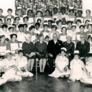 Photo:Prizegiving for The Class of September 1964