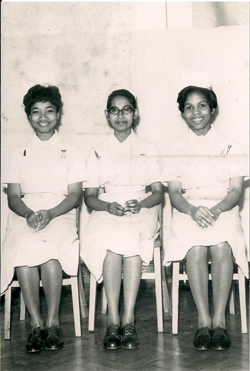 Photo:Nurses from the September Class of 1964