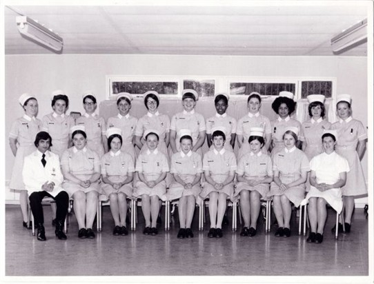 Photo:St. Helier nurses 1971