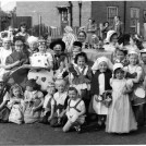 Photo:Children in Fancy Dress for The Coronation 1953