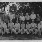 Photo:Tweeddale school cricket team of 1956 hoping someone out there recognizes themselves or other members of the team. Back row left to right:  Mr Johnson(maths and PT teacher), John Fitzgerald(died on golf course in New Zealand aged 32), ?, Ray Johnson, Roy Barnaby, Peter Hotston, ? Front row left to right:  ? , Dave Worby, Terry Day, ?, Ray Asbury, Barry Russell, Ray Vail(self)