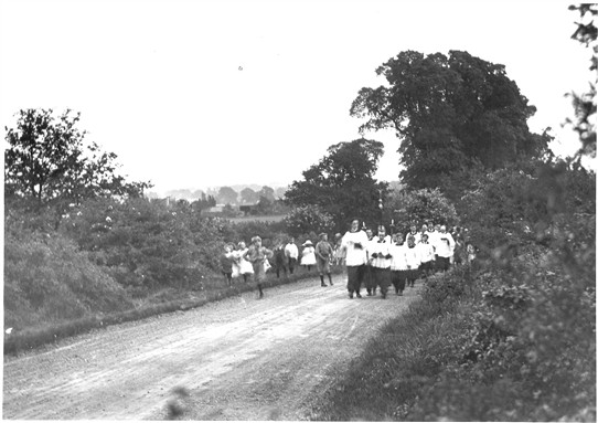 Photo:Wrythe Lane circa 1919