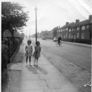 Photo:Middleton Rd. with John Young's daughter and friend  c. 1962
