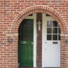 Photo:Shared brick arch