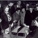 Photo:St. Helier Youth Club Exhibition, Morden British Legion. 14th Nov. 1953
