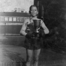 Photo:Ted Thomson (senior), Schoolboy Champion of Great Britain, 1930s
