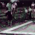 Photo:Building a pond at Welbeck Road School c1936